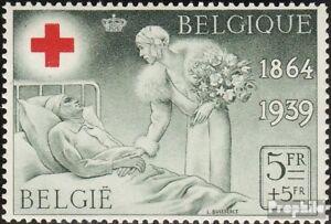 Belgien-504-gestempelt-1939-Belgisches-Rotes-Kreuz