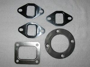 OEM 7000 190XT Allis Chalmers Exhaust Manifold and Turbo Gasket set D2900 Engine