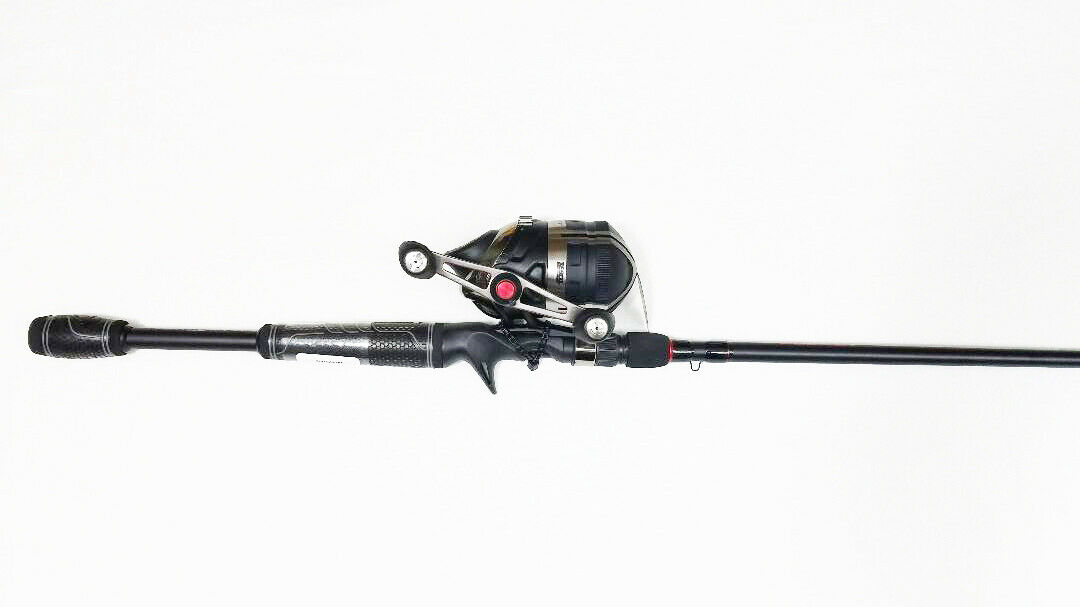 ZEBCO BULLET 7' COMBO, ONE PIECE, CRAPPIE ROD, ZBC701MH