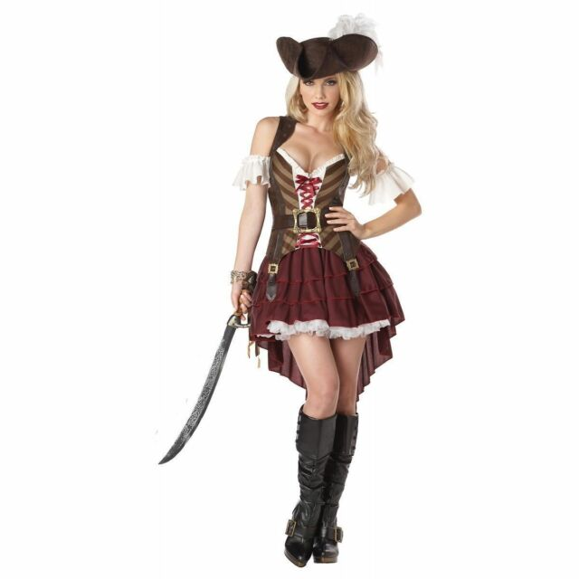 Buy Eye Candy 01164 Steampunk Swashbuckler Costume Set Large Online