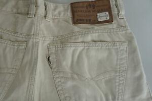 JOKER-Herren-Men-Jeans-Relaxed-Hose-32-34-W32-L34-beige-TOP-AP8