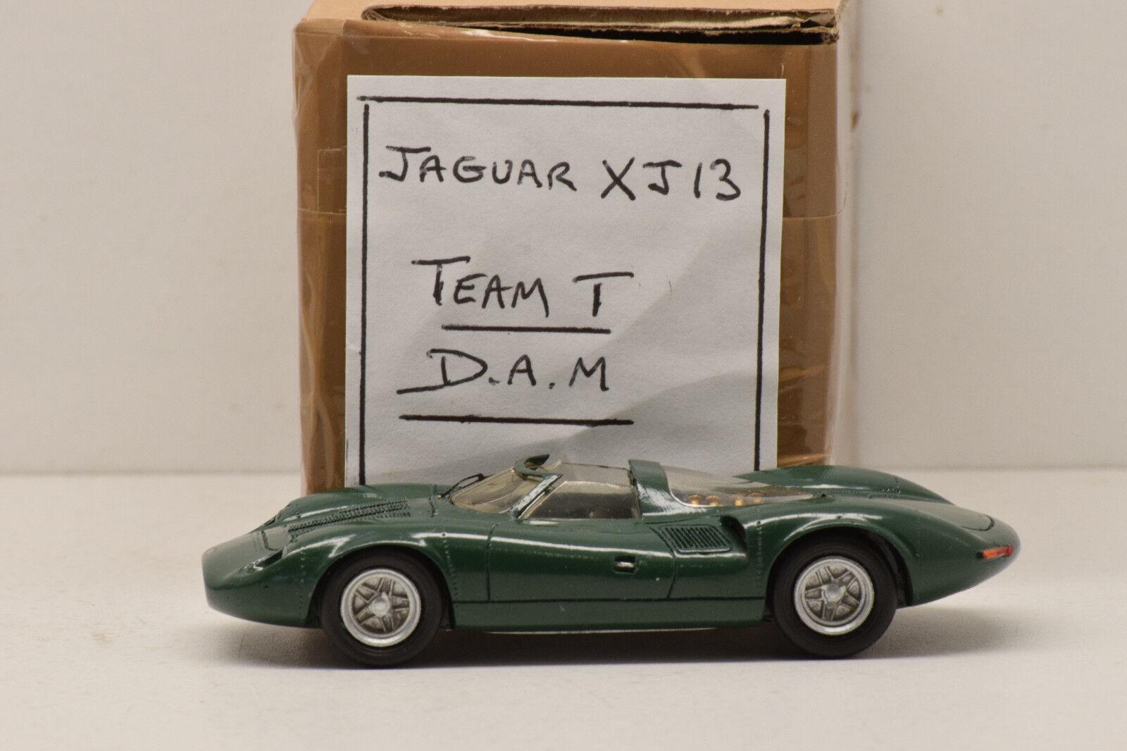 Kit jaguar montiert xj13 team t d.a.m. 1   43 minze