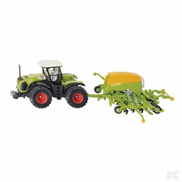Siku Claas Xerion With Amazone Cayena 1 87 Scale Model Toy Present Gift