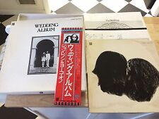 JOHN LENNON YOKO ONO WEDDING ALBUM ODEON EAS-80702 STEREO JAPAN W/OBI BOX SET