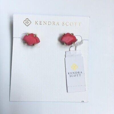 Kendra Scott Inaiyah Silver Stud Earrings in  Mother of Pearl