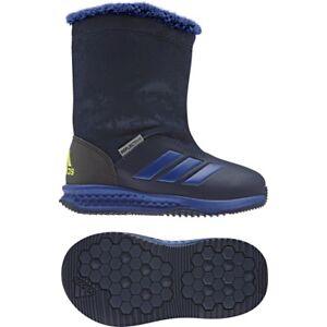 Image is loading Adidas-Kids-Boots-Rapida-Snow-Winter-Shoes-s81122 e75dc9679c9