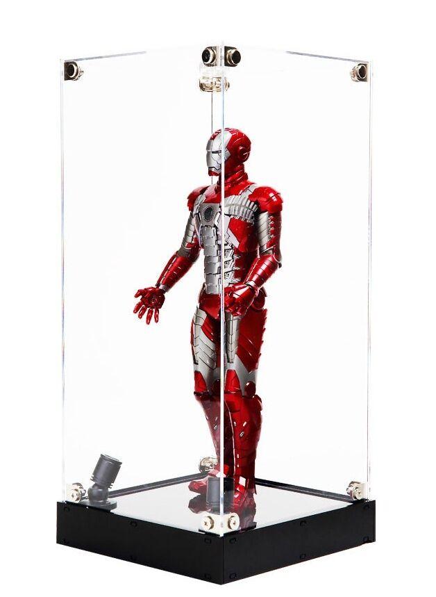LED consolida el armario de exhibición de akeley, de 12 pulgadas de dibujo, escala 1   6, robots, colecciones.