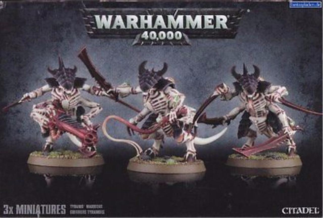 Warhammer 40.000 tyranid krieger mit prime - upgrade von games workshop hey 51-18