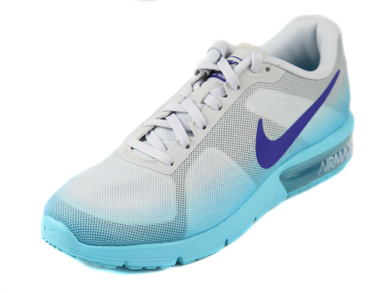 Nike mujer air max blancoo azul sequent zapatos ret new