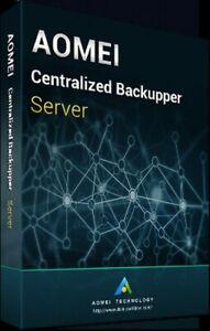 AOMEI Centralized Backupper Server (5 PCs & 1 Server) + Free Lifetime Upgrades