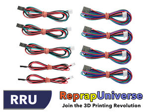 Printer Wire | Reprap Full Wire Cable Set 9 Wires 2 3 4 Pin 3d Printer Drucker
