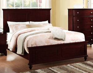 king size panel bed. Image Is Loading NEW-034-SANTA-BARBARA-034-CASUAL-STYLE-CHERRY- King Size Panel Bed