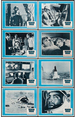 Countdown Orig 1968 Lobby Card Set James Caan/robert Duvall 11x14 Movie Posters Pure Whiteness Astronauts & Space Travel