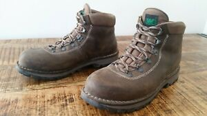 7cb2d4114da Details about Men's Dark Brown Leather LIMMER Hiking Backpacking Trail  Mountaineering Boots 10
