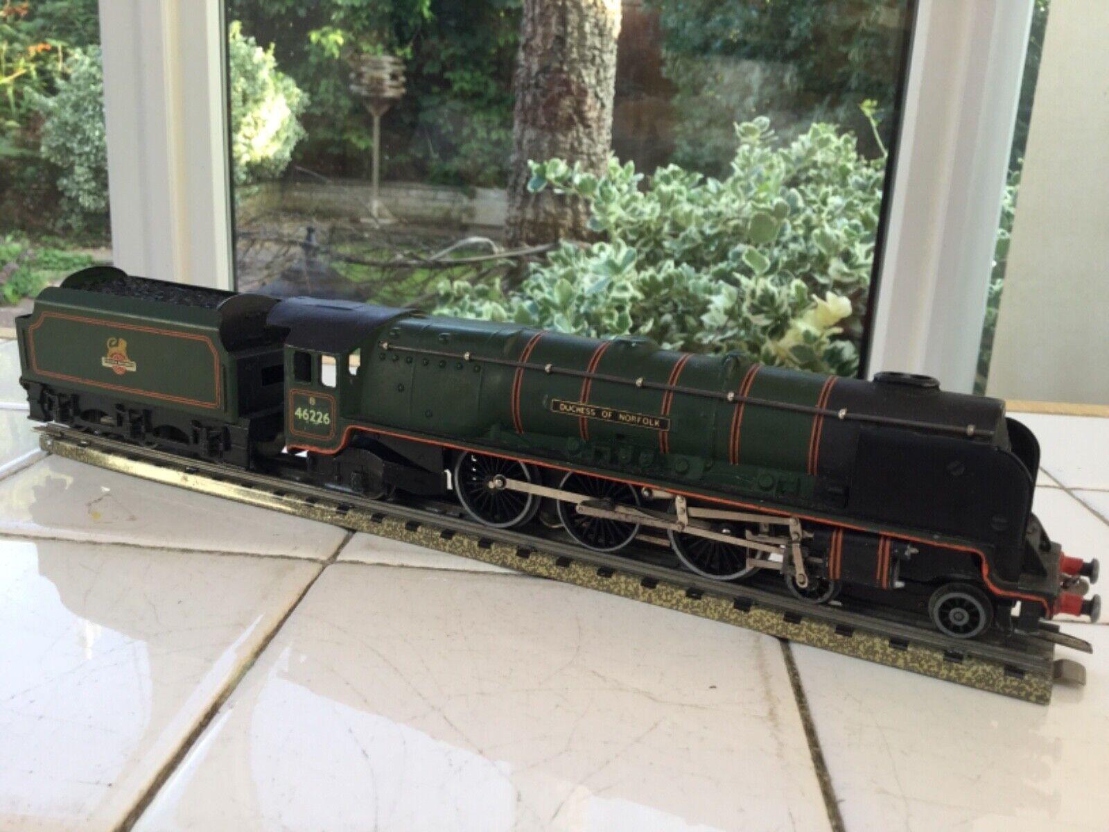 Hornby Dublo 3 Rail EDL12 BR 462 46226 Duchess of Norfolk Serviced remaged