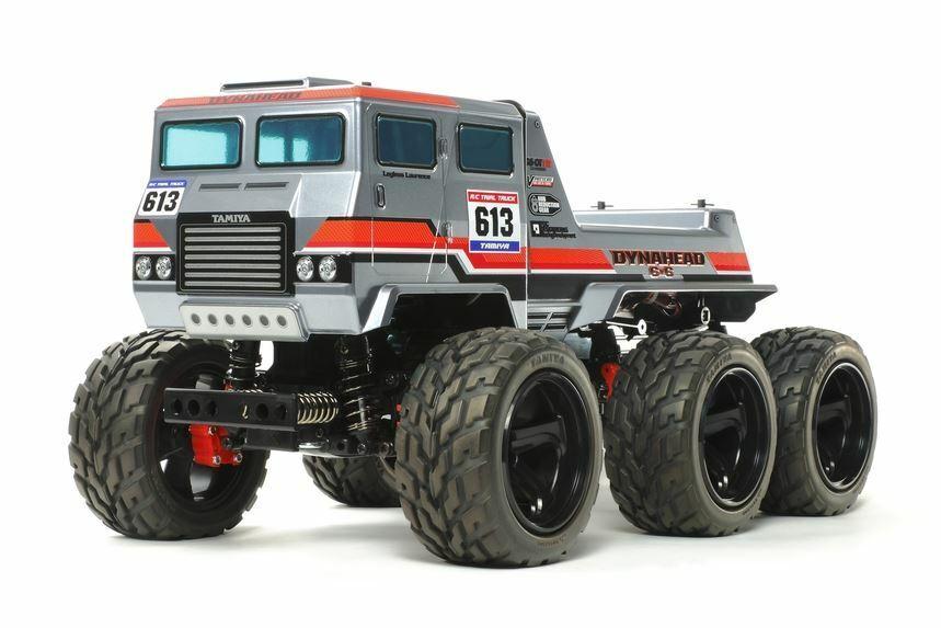 Tamiya - 1 18 Radio Control dynahead 6x6 G6-01 Camión Kit