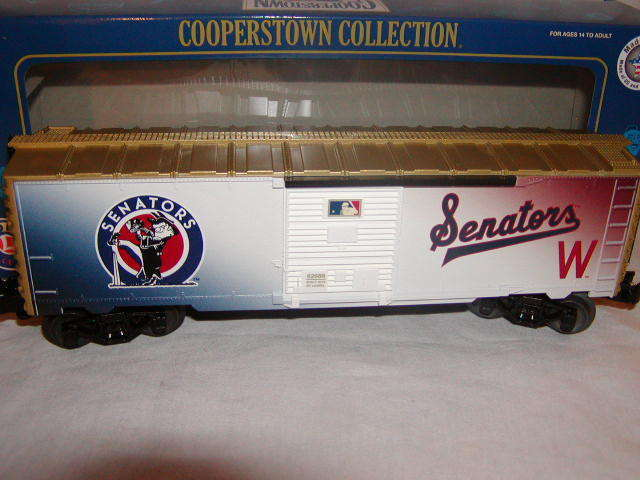 Lionel 682686 Washington Senatori scatola auto o 027 2015 Cooperstown Collection Nuovo di zecca con scatola