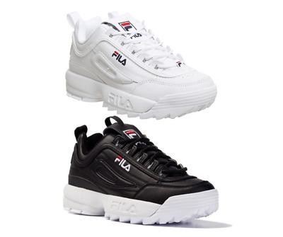 Women Men Originale FILA Disruptor II 2 White Authentic Shoes Unisex Size  35-44 | eBay