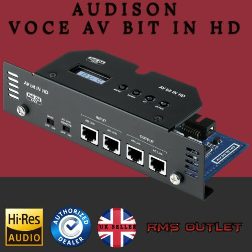 Audison Voce Av bit en la interfaz digital de alta definición para múltiples Audison amplificador #1 vendedor
