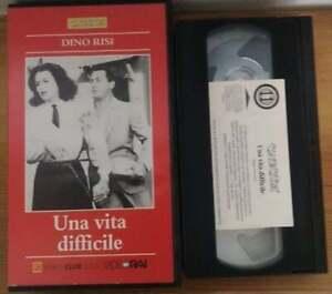 VHS-UNA-VITA-DIFFICILE-di-Dino-Risi-VIDEORAI