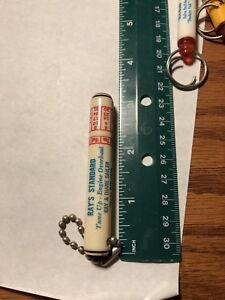 Details about Vintage Standard Oil Key Chain Key FOB Calendar Toothpick  Holder Hebron No  Dak