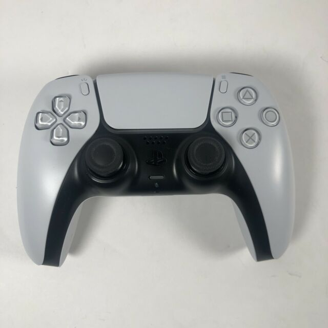 Sony PS5 DualSense Wireless Controller White CFI-ZCT1W - Untested, Powers On