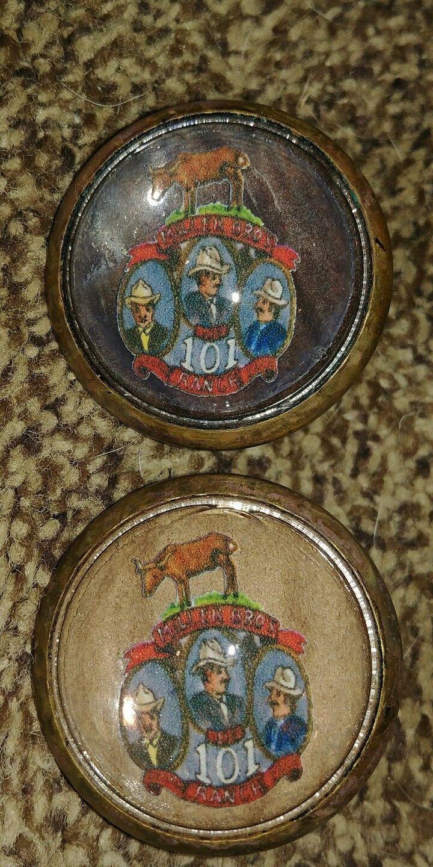 101 Ranch bridle rossettes cowboys   classic fashion