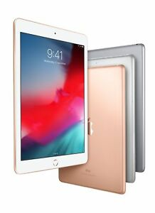 NEW 2018 Apple iPad 6th Generation 32 /128GB Wi-Fi 9.7 Gray, Gold, Silver A1893