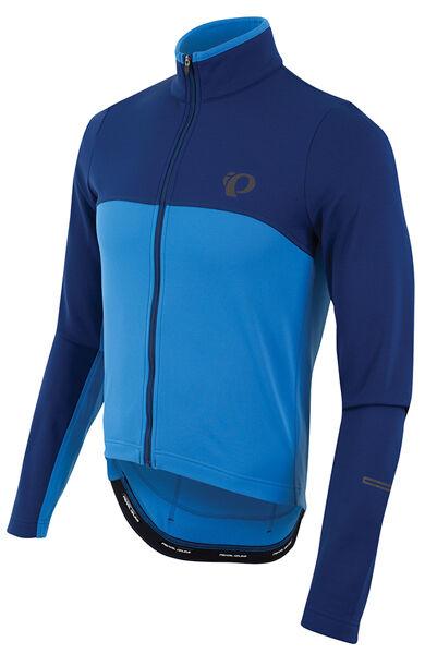Pearl Izumi 2017 Select Thermal Long Sleeve Bike Cycling Jersey bluee X2 Large