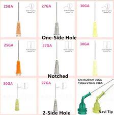 Dental Disposable Endo Irrigation Needle Syringe Tips 25g27g30g Ga Side Vent