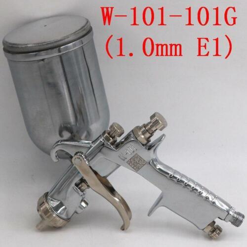 SPRAY GUN ANEST IWATA W-101 Gravity Feed Paint Spray Gun 1.0//1.3//1.5//1.8mm HVLP