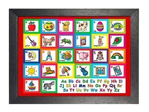 Educational-Alphabet-Abc-Kids-Learning-English-Teaching-School-Poster-Print