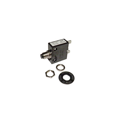 Philmore 10 Amp Push Button Manual Reset Thermal Circuit Breaker 50V DC 250V AC LKG Industries