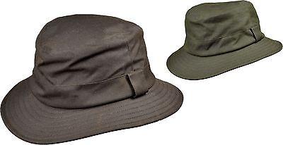 Indipendente Outdoorhut Caccia Tropentarn Cerati Pioggia Fisso Wax-cappello Marrone-mostra Il Titolo Originale Durevole In Uso