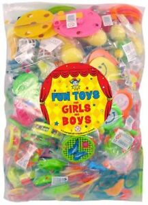 PINATA-2-x-100-TOYS-PARTY-BAG-FILLERS-FAVOURS-FETE-LUCKY-DIP-PRIZES-GIFTS-KIDS