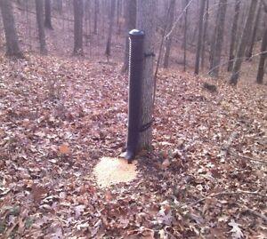 The Trophy Tube Wild Game Gravity Feeder for Deer, Turkey, Hogs