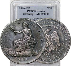 1876-CC-TRADE-DOLLAR-KEY-DATE-AU-NEAR-BU-PCGS-GENUINE