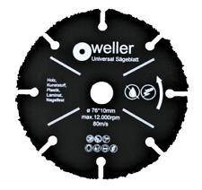 Trennscheiben Ø 76mm x 10mm für Akku Winkelschleifer 10,8V 12V Stein//Holz