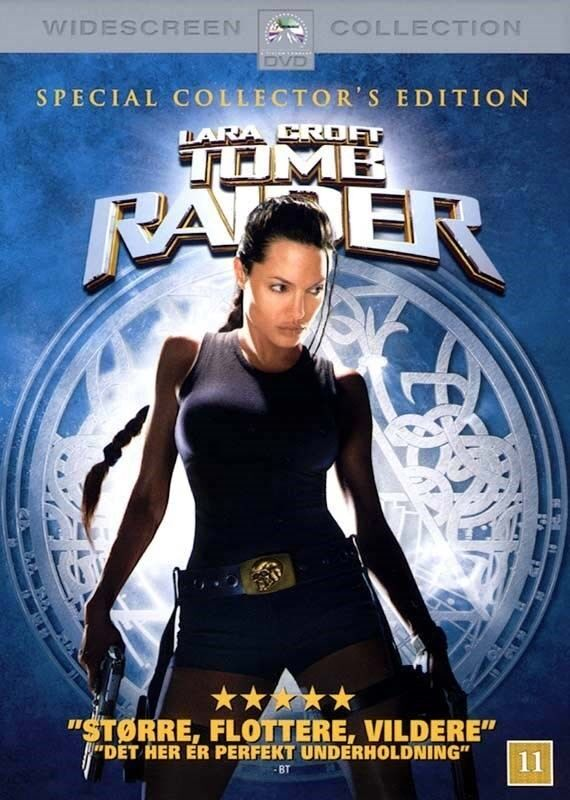Tumb Raider, instruktør Lara Croft, DVD