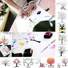 30x40CM Fingerprint Tree Wedding Guest Book Wedding Gifts Canvas Painting