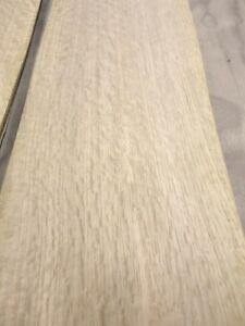 Details About White Oak Quartered Flake Wood Veneer 5 6 X 40 45 Raw No Back 1 42 Thickness