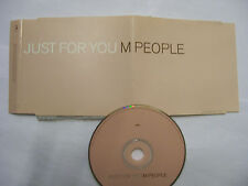 M PEOPLE Just For You – 1997 UK CD PROMO – Electronic Pop – BARGAIN!