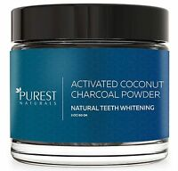 Purest Naturals Teeth Whitening Charcoal Powder Natural - Made In Usa With Co...