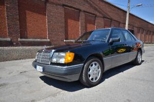 Mercedes 300E 1992 - Aucune rouille - Aucun hiver