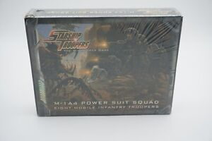 Mongoose-Starship-Troopers-Mobile-Infantry-Power-Suit-8-Pack-M-1A4-NEW-Sealed