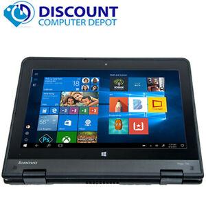 Lenovo Thinkpad Yoga Touchscreen Laptop Computer Windows 10 4GB 128GB SSD HDMI
