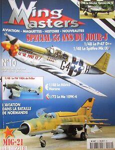 Modellino-Aviazione-Militare-WW2-Rivista-Wing-Masters-N-10-di-1999-Aerei-War
