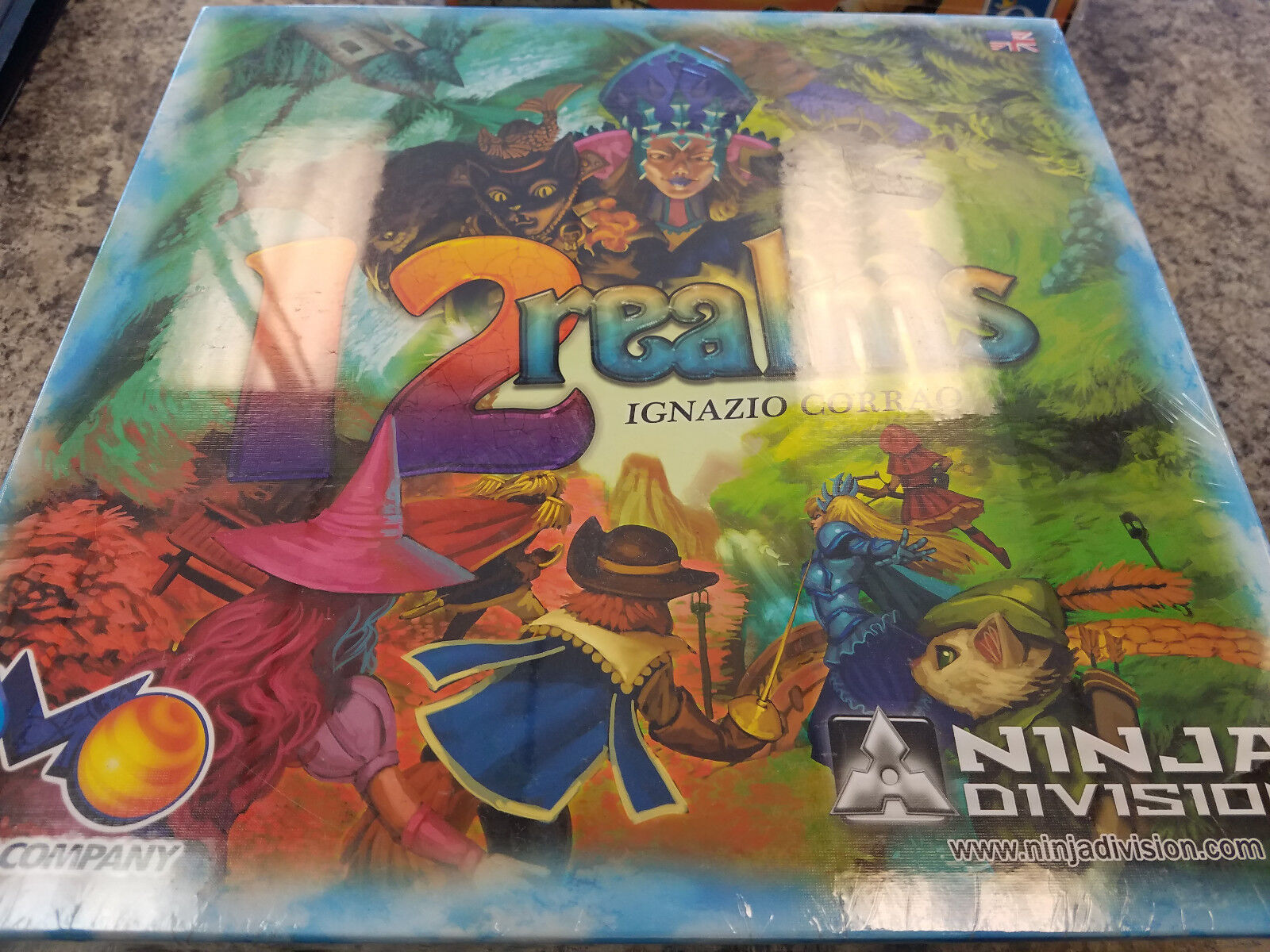 12  Realms - Ninja Division giocos tavola gioco nuovo   sport caldi