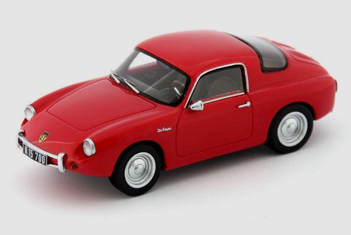 Wonderful modelcar INTERMECCANICA IMP 1961 () - red - scale 1 43 - ltd.ed.