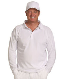 LORD-l-CRICKET-POLO-LONG-SLEEVE-l-RAGLAN-SLEEVE-l-MENS
